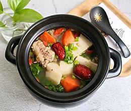 #快手又营养,我家的冬日必备菜品#【山药排骨汤】滋补又暖身!的做法