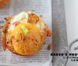 黄金酥脆飞饼烤蛋的做法
