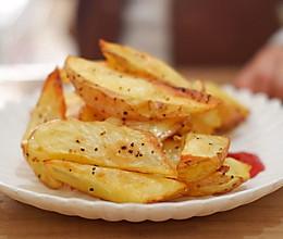炒鸡简单的薯角的做法