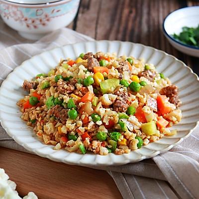 健康低卡家常菜——无米炒饭