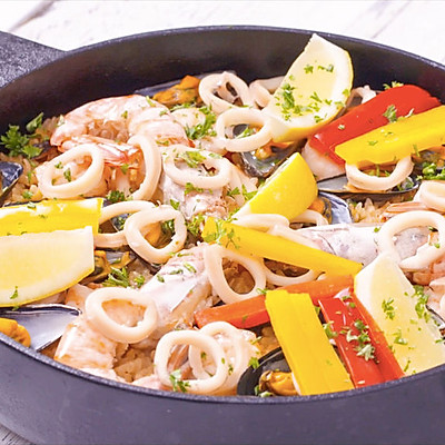 西班牙海鲜饭|美食台