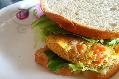 金枪鱼低脂汉堡