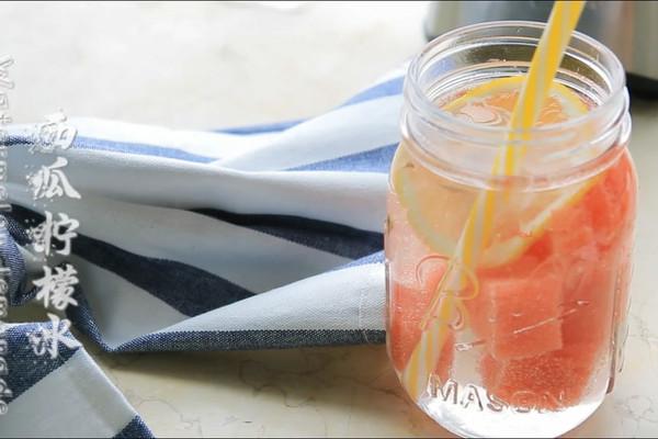 夏日冷饮——西瓜柠檬水的做法