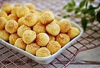 奶香浓郁,爆好吃的黄金椰蓉球,简单零失败的做法