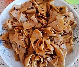 凉拌豆油皮~小时候的人造肉的做法