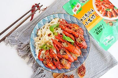 十三香小龙虾拌面