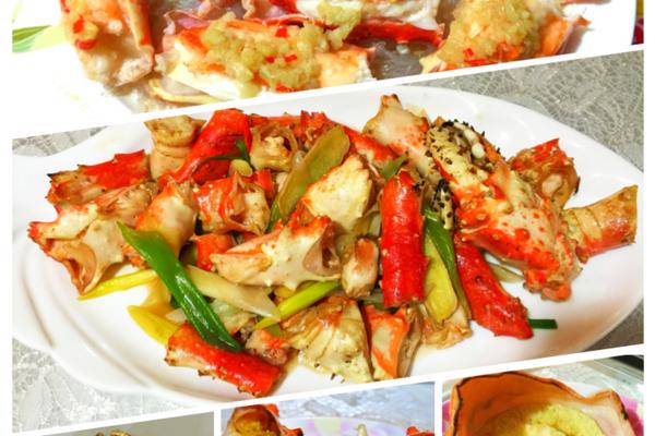 春节必备年夜菜--帝王蟹(含拆蟹方法)的做法