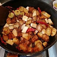 新派川菜--干煸红烧肉的做法图解13