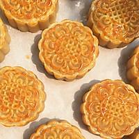 豆沙/蛋黄豆沙月饼~超详细步骤的做法图解16