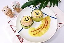 三文鱼饭团的做法