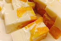 芒果牛奶布丁的做法