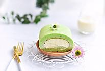 菠菜汁瑞士卷#做道好菜,自我宠爱!#的做法