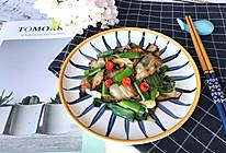 青蒜(蒜苗)炒腊肉的做法