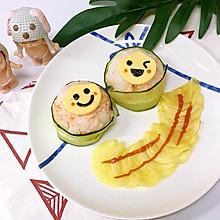 三文鱼饭团