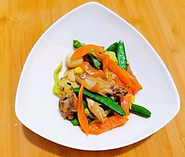 缅甸式炒蔬菜的做法