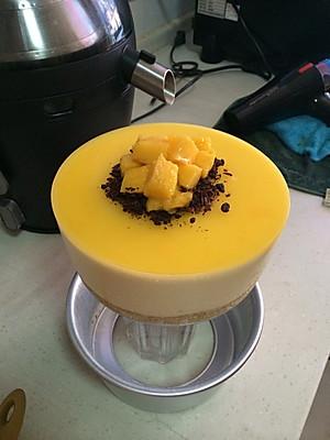 芒果慕斯蛋糕(6寸)【图片】