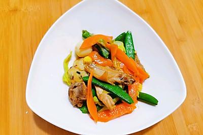 缅甸式炒蔬菜