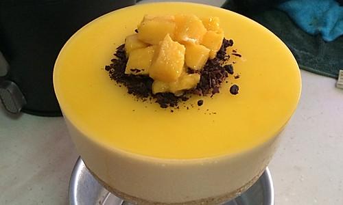 芒果慕斯蛋糕(6寸)的做法