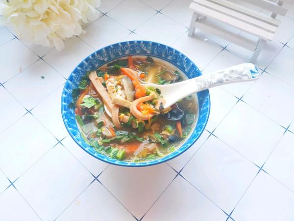 5分钟搞定的开胃汤:酸辣汤的做法