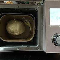 麦穗脆皮肠面包,冷藏法的柔软面包的做法图解5