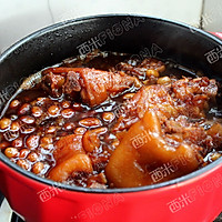 花生炖猪蹄#厨此之外,锦享美味#的做法图解7