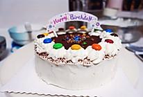 巧克力豆奶油戚风蛋糕#豆果5周年#的做法