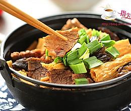 牛肉腐竹煲的做法