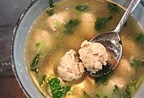清汤鲅鱼丸子#精品菜谱挑战赛#的做法