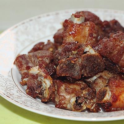 椒盐排骨美味香嫩炸排骨吮指排骨