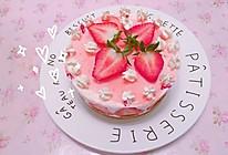 镜面草莓慕斯蛋糕的做法