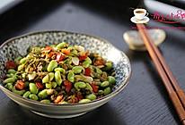 雪菜毛豆米的做法