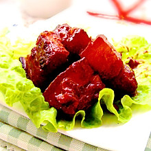 玫瑰腐乳红烧肉