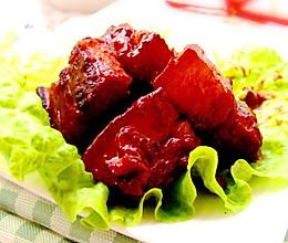 玫瑰腐乳红烧肉的做法