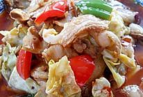 李孃孃爱厨房之一一莲花白炒回锅肉的做法