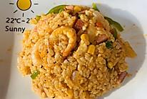 泰式虾膏炒饭的做法