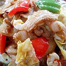 李孃孃爱厨房之一一莲花白炒回锅肉