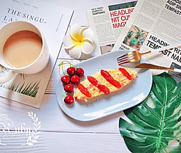 别样早餐、别样文化—西式奄列蛋omelette的做法