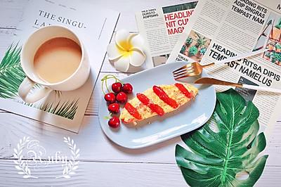别样早餐、别样文化—西式奄列蛋omelette