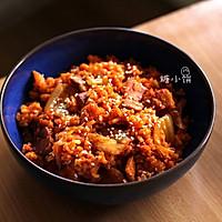 【泡菜五花肉炒饭】的做法图解8