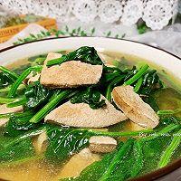 菠菜猪肝汤的做法图解14