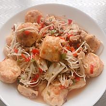 金针菇日本豆腐