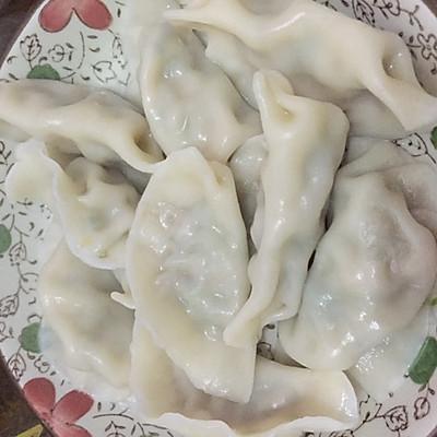 芹菜肉馅饺子