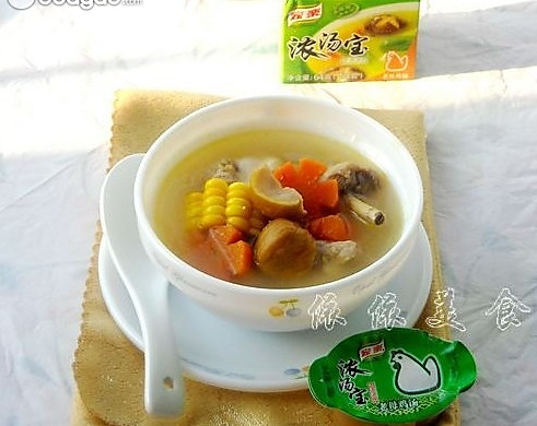 香浓栗子鸡汤