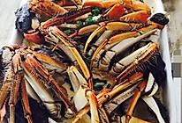 螃蟹蒸蛋的做法