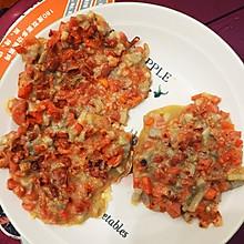 胡萝卜藕饼,早餐饼
