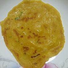 孕妇食谱 胡萝卜葱花蛋饼