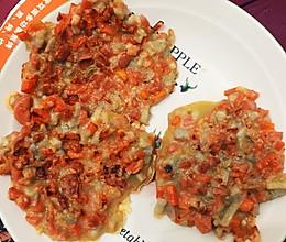 胡萝卜藕饼,早餐饼的做法