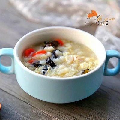 海参鸡蛋疙瘩汤