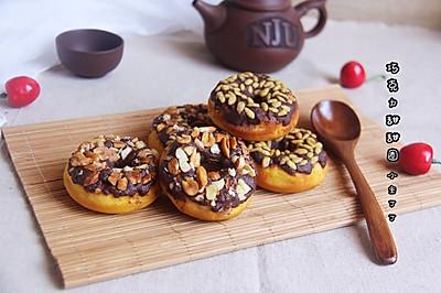巧克力甜甜圈#美味烤箱菜,就等你来做!#