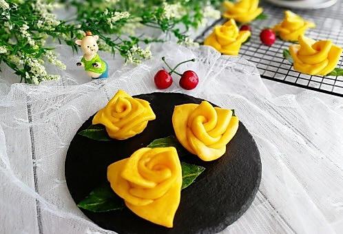 花样面食+南瓜花卷的做法